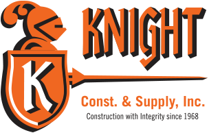 Knight Const. and Supply Logo